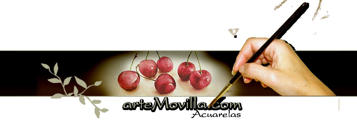 Acuarelas arteMovilla - Exposición de Acuarelas llenas de luz y color